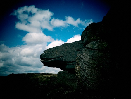 Millstone Edge on Pennine / Oldham Way