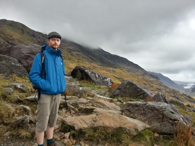 Hiker Snowdon Pen Y Pas