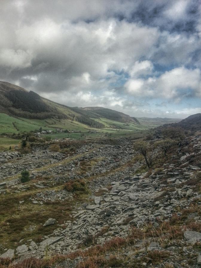 Rhiw Fach Quarry Cwm Penmachno Hike
