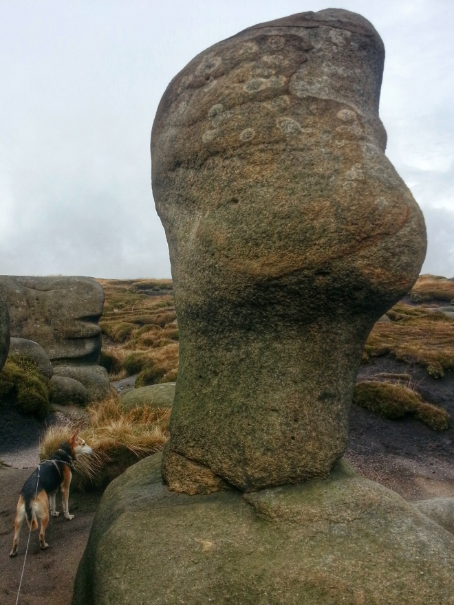 Edale Kinder Low Hike Rocks