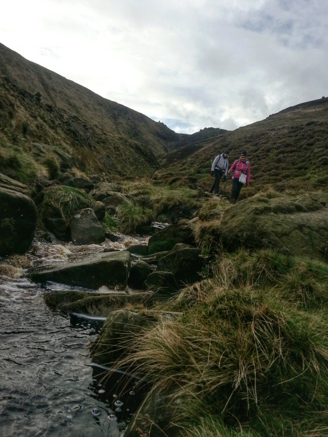 Edale Kinder Low Hike Grindsbrook Clough
