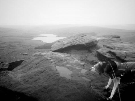 Photograph of Close Moss on Marsden moor Pennine Hike
