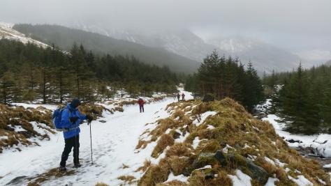 Loch Lomond Inveruglas Munro Hike Winter Scotland