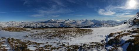 Ben Dubhcraig Munro views Scotland Hike Hiking