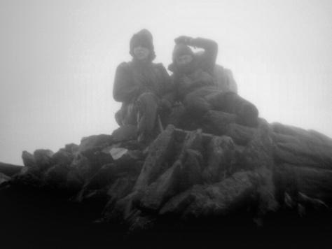 Snowdon Yr Wyddfa Llanberis Path Hike March2015