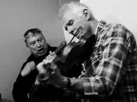 Snowdon Yr Wyddfa Snowdon Yr Wyddfa Pen Y Pas Hostel March2015 Live music fiddle and uke