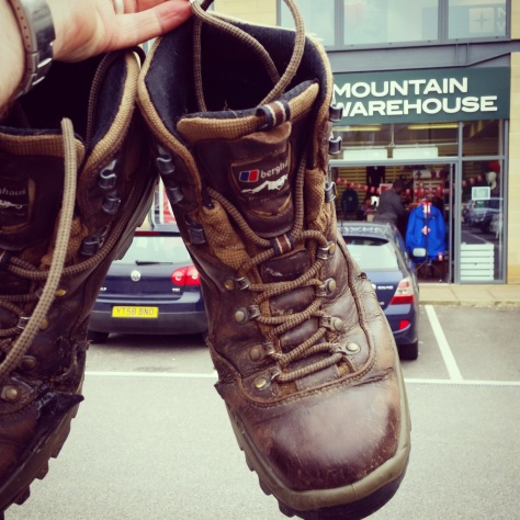 Mountain Warehouse Re-boot boots campaign