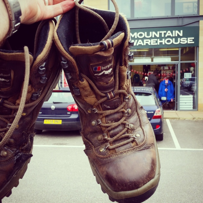 Mountain Warehouse boot recycling #MWreboot