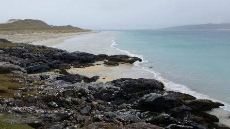 Luskentyre Beach Harris Hebrides