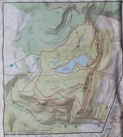 Catskills HalfwayHike Map