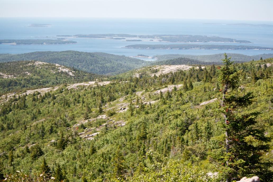 Acadia national Park Cadillac Mountain Hike