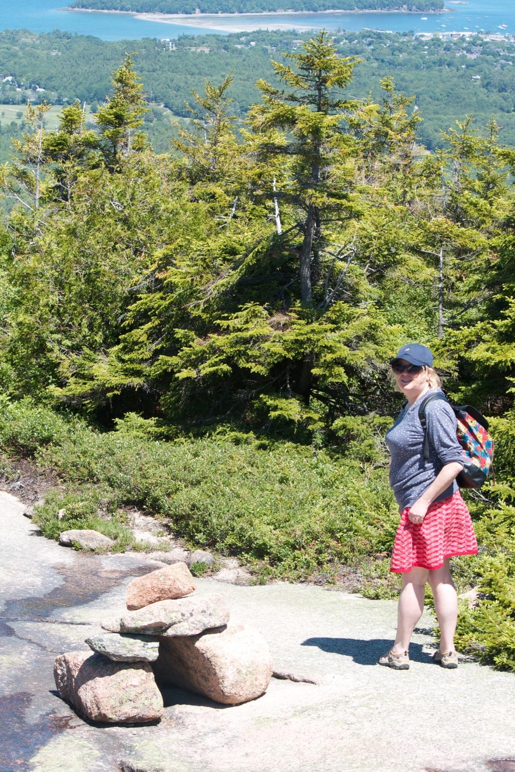 Acadia national Park Cadillac Mountain Hike North Ridge Trail